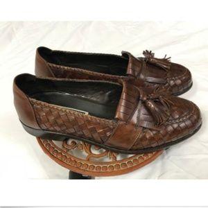 ee4454f6315 bragano Shoes - Bragano English Calf Men Loafers Basket Weave Tass